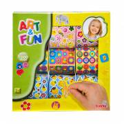Art & Fun Sticker Set Bloemen, 1000st.