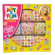 Art & Fun Stickerset, 1000st.