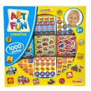 Art & Fun Stickerset Jongen, 1000st.