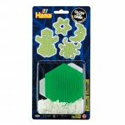 Hama Strijkkralenset Glow in the Dark, 300st.