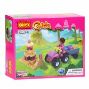 COGO - Girls, 2in1 - Quad met Aanhanger