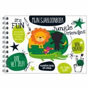 Sjabloonboek In de Jungle