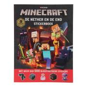 Minecraft de Nether & de end Stickerboek