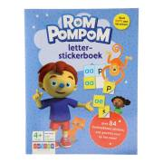 Rompompom Letter-stickerboek