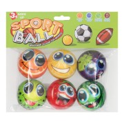Foamballen Fruit, 6st.