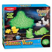 Sandy Clay Glow in the Dark - Jurassic Valley