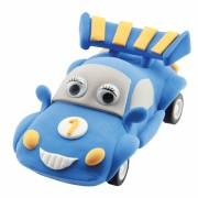 Super Dough Raceauto - Blauw