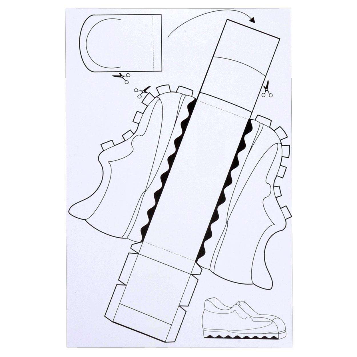 schoen vans sinterklaas maken