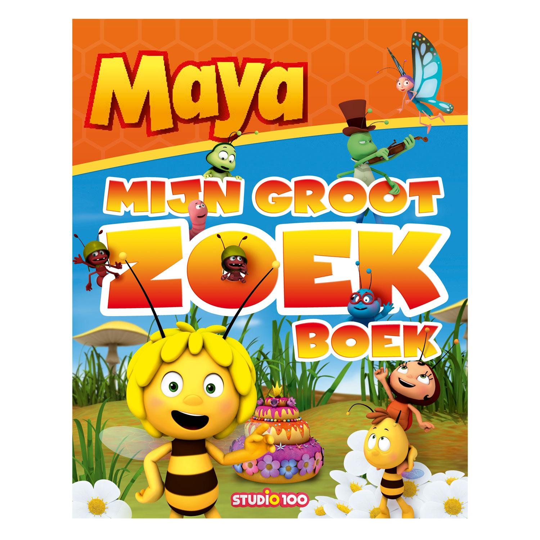Kartonboek Maya Mijn Groot Zoekboek