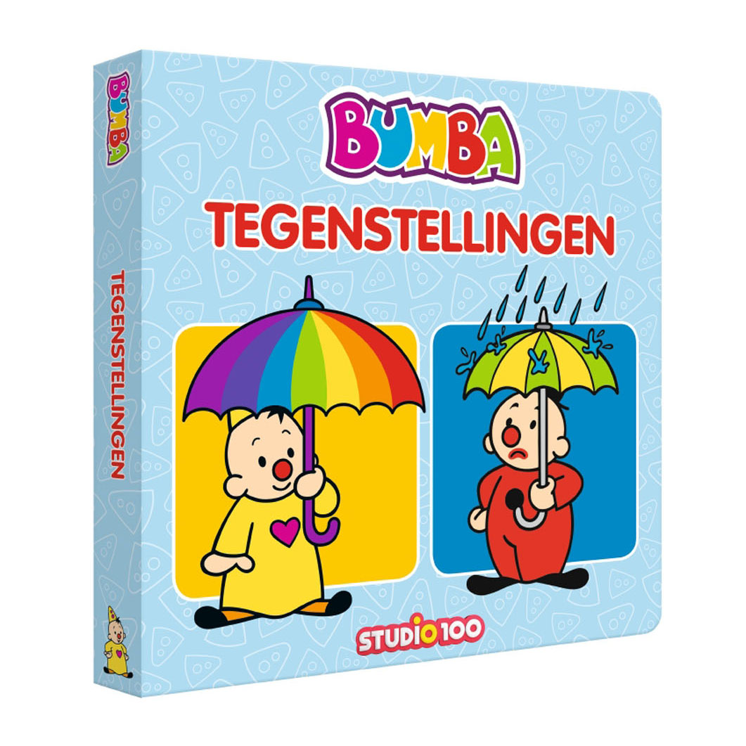 Bumba Kartonboek XL - Tegenstellingen