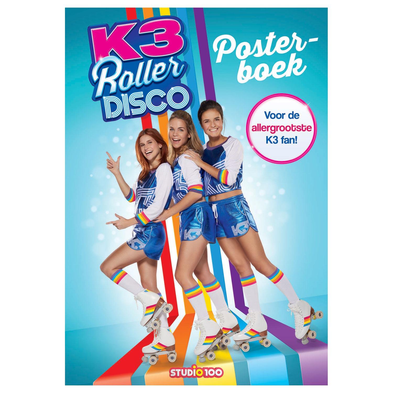 Muurstickers Kinderkamer K3.K3 Posterboek Roller Disco Online Kopen Lobbes Nl