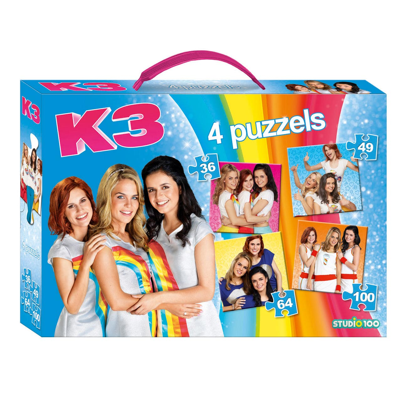 K3 Puzzelbox 4in1