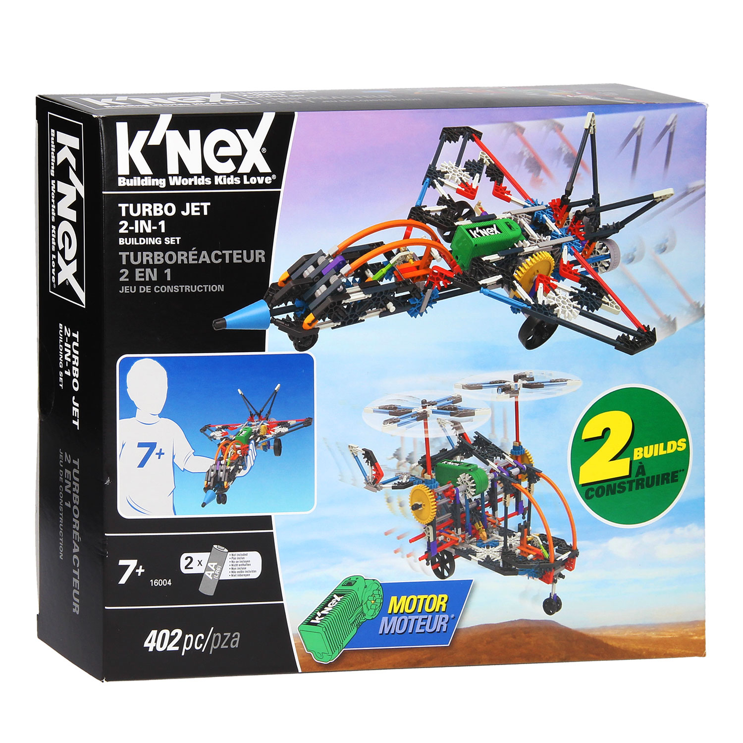 K'Nex Turbo Jet, 2in1