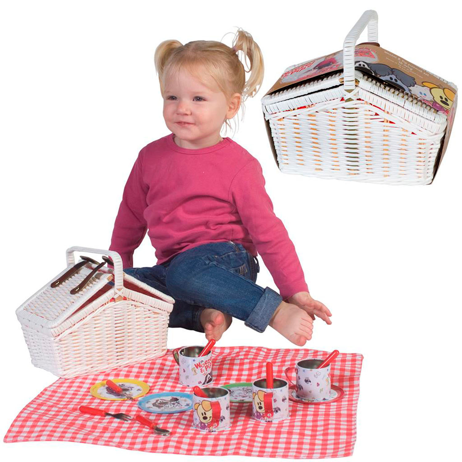Woezel & Pip Picknickset Tin