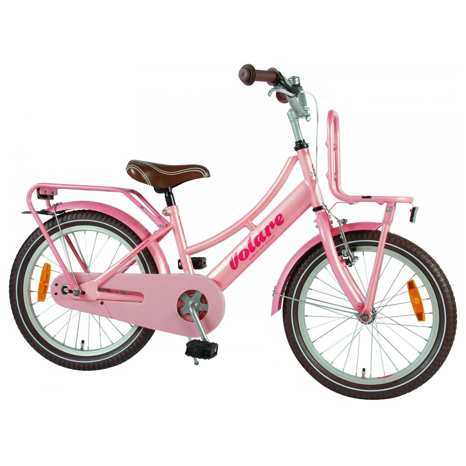 Volare Excellent Fiets -18 inch - Roze