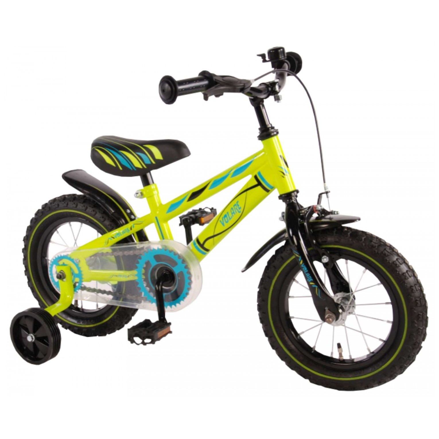 Volare Electric Green Fiets - 12 inch - Groen