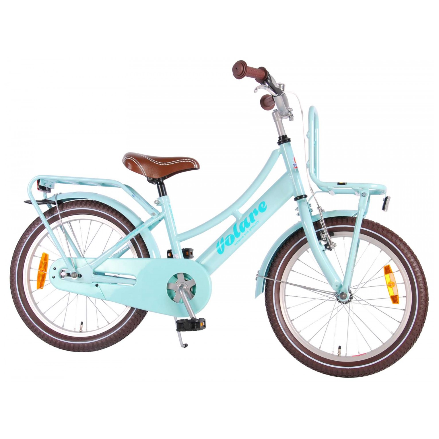 Volare Excellent Fiets - 18 inch - Mint Blauw