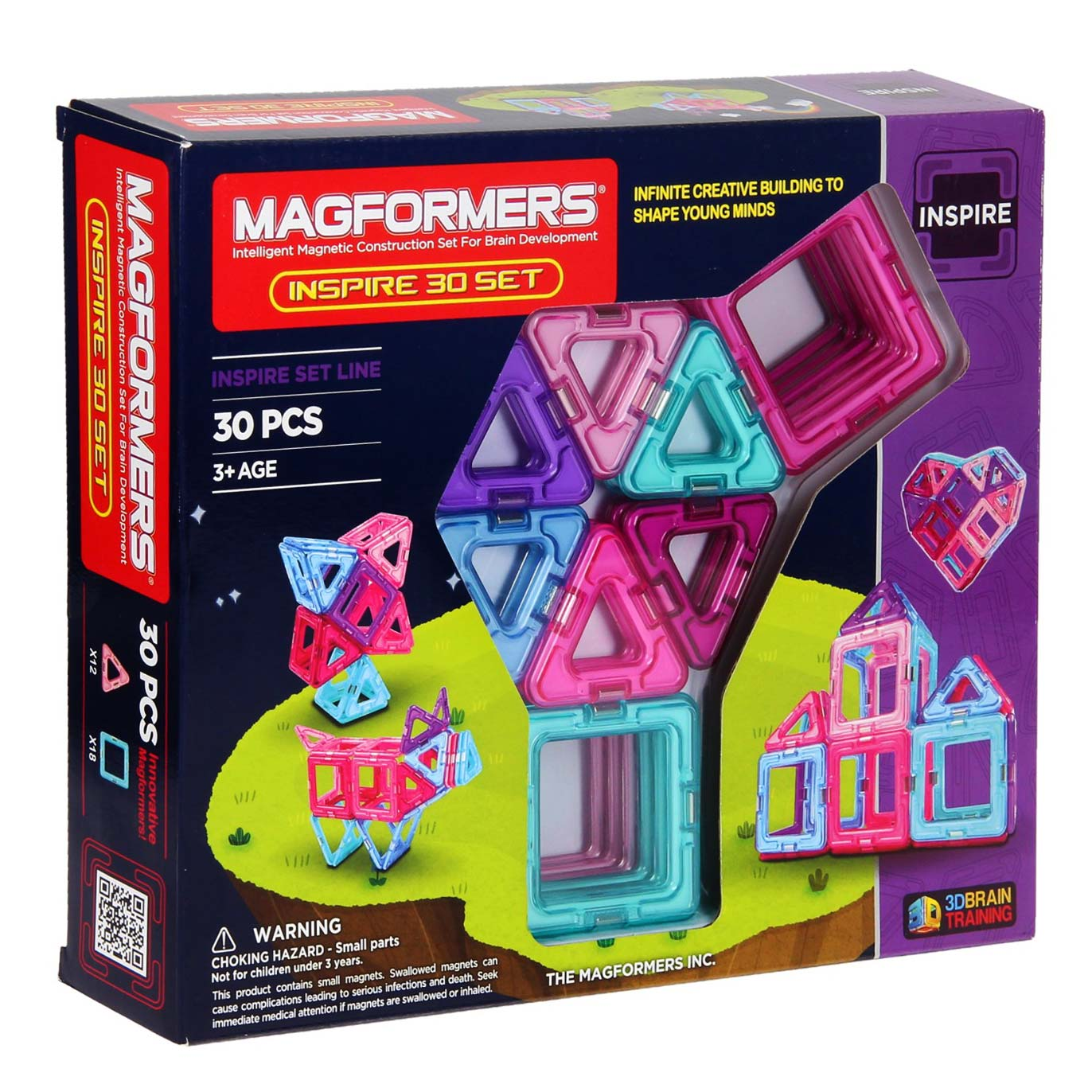 Magformers Inspire, 30dlg.