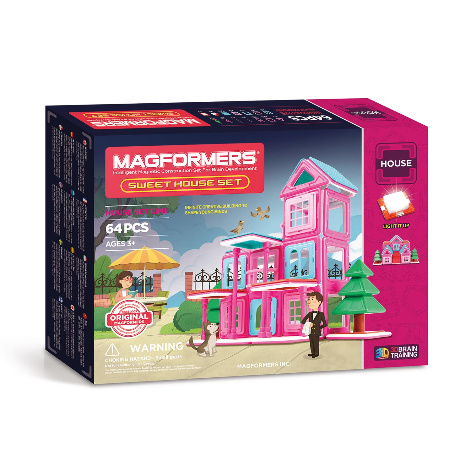 Magformers Sweet House, 64dlg.