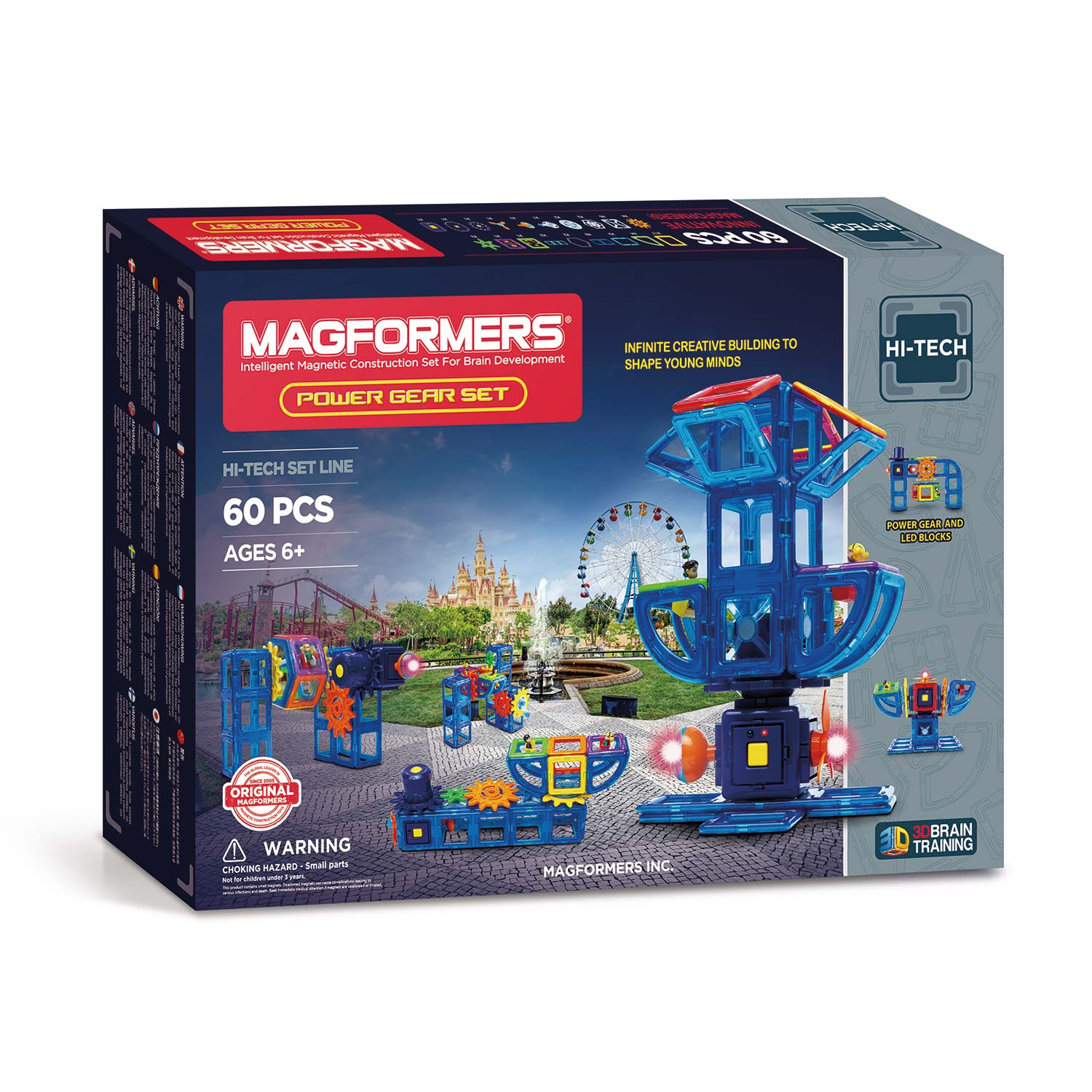 Magformers Power Gear Set, 60dlg.