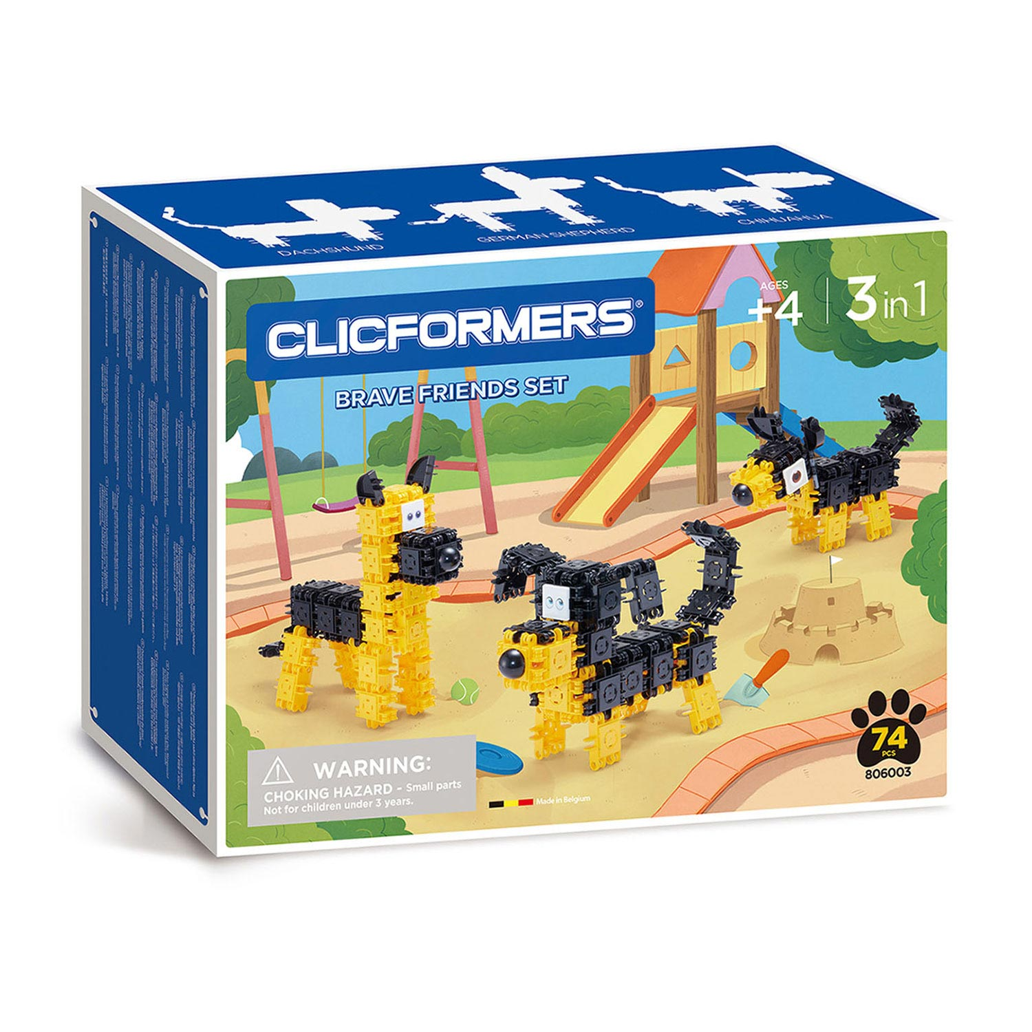 Clicformers Brace Friends Set, 74dlg.