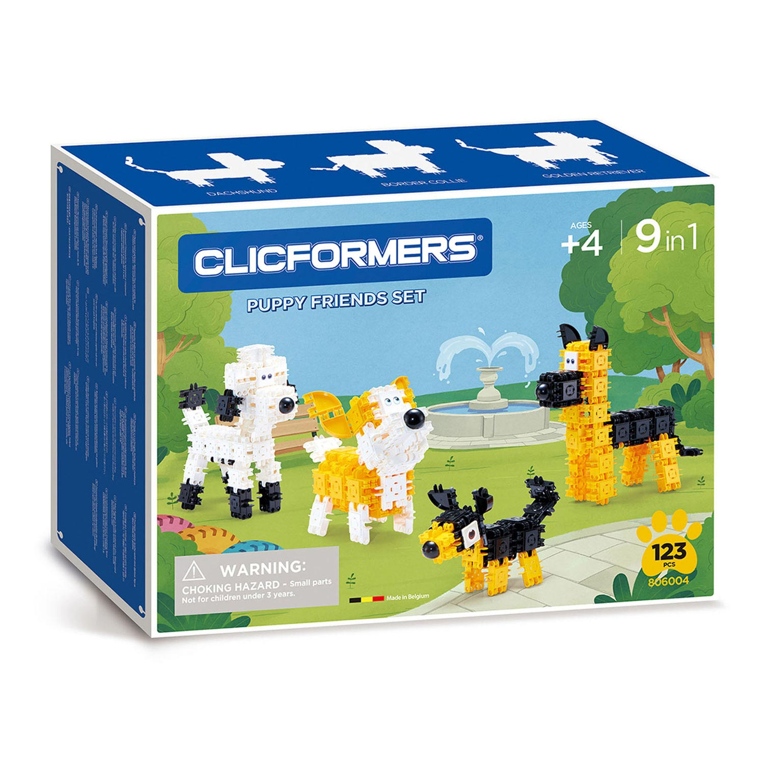 Clicformers Puppy Friends Set, 123dlg.