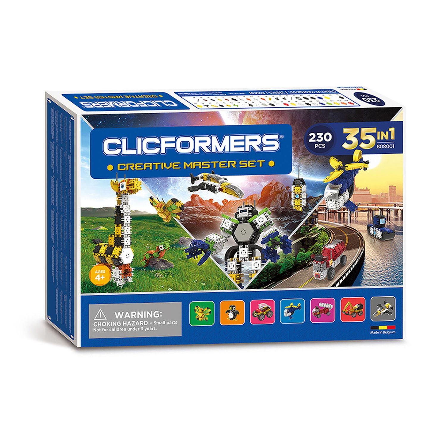 Clicformers Creative Master Set