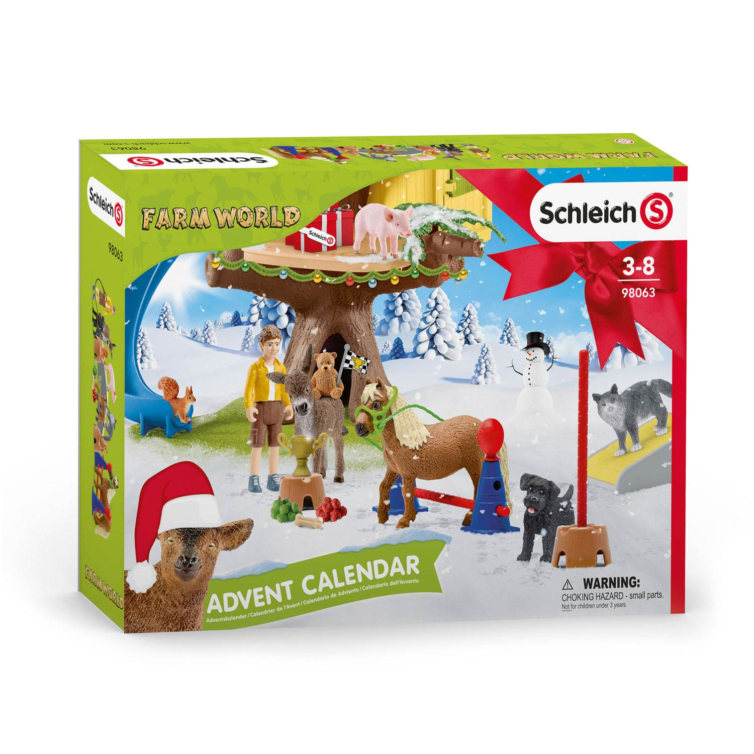 Schleich Adventskalender Farm World 2020