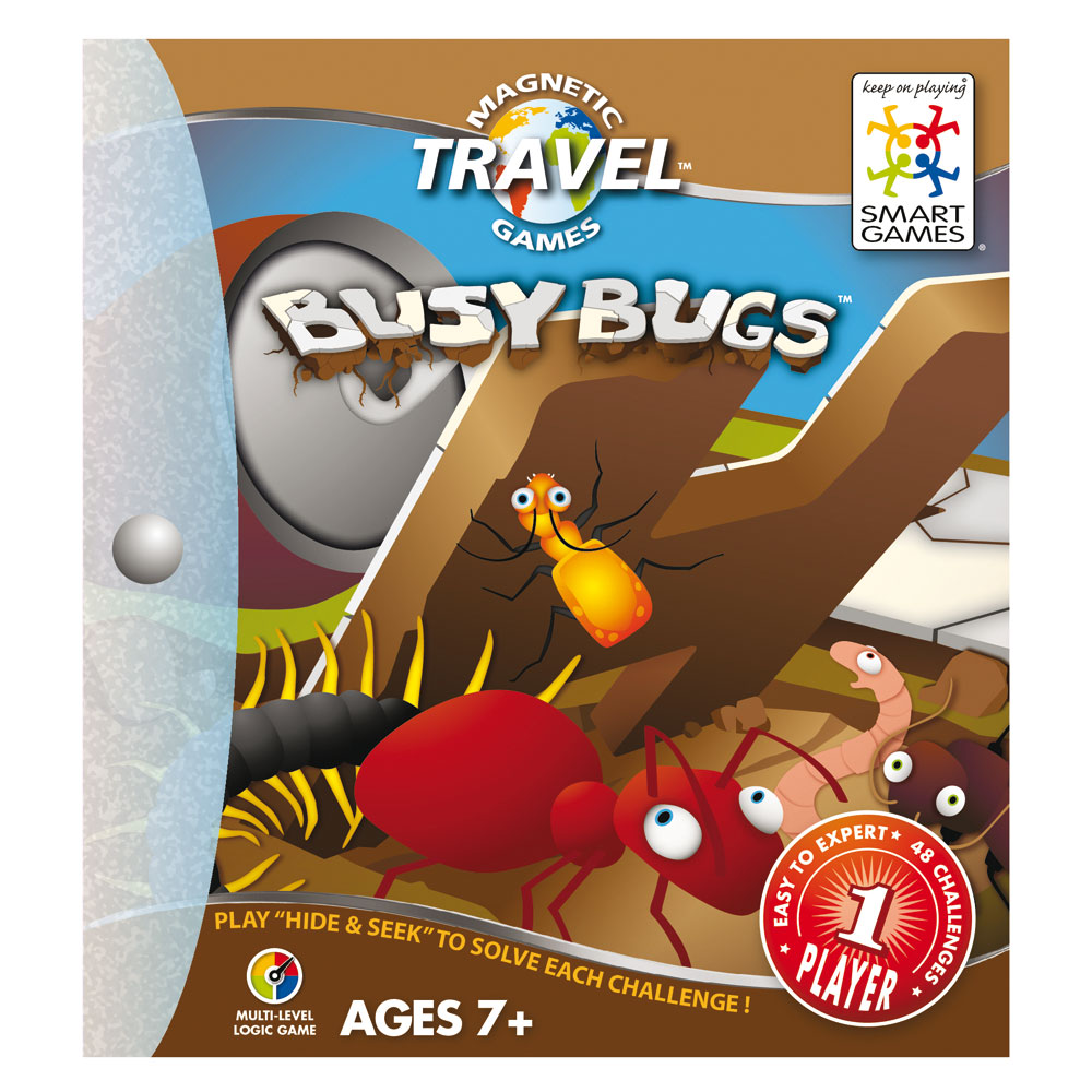 SmartGames Magnetic Travel Busy Bugs
