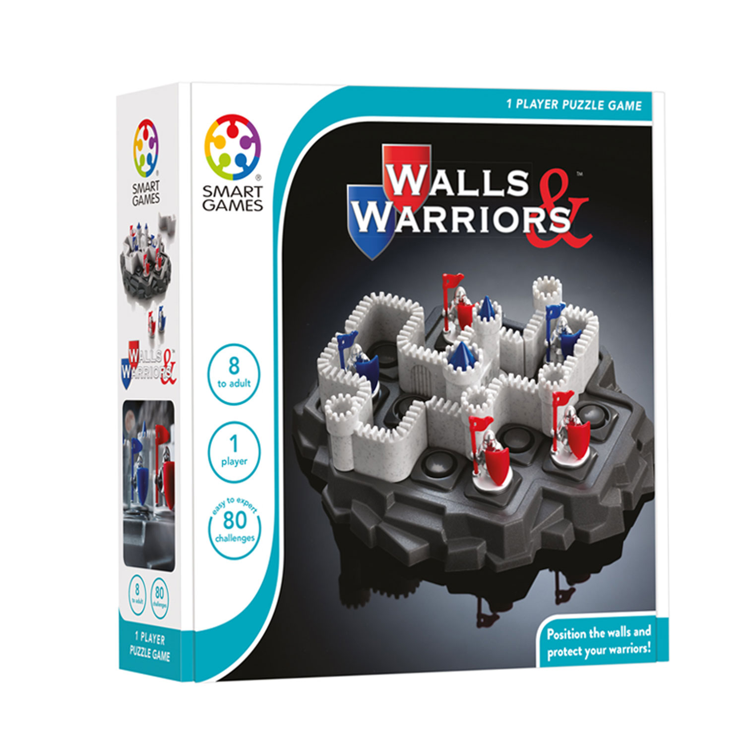 SmartGames Walls & Warriors