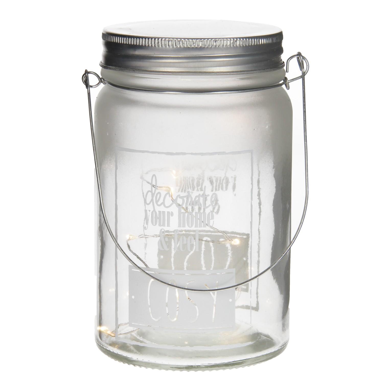 pot glas met verlichting wit cosy online kopen