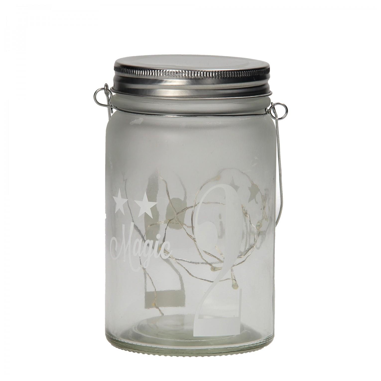 pot glas met verlichting wit magic online kopen