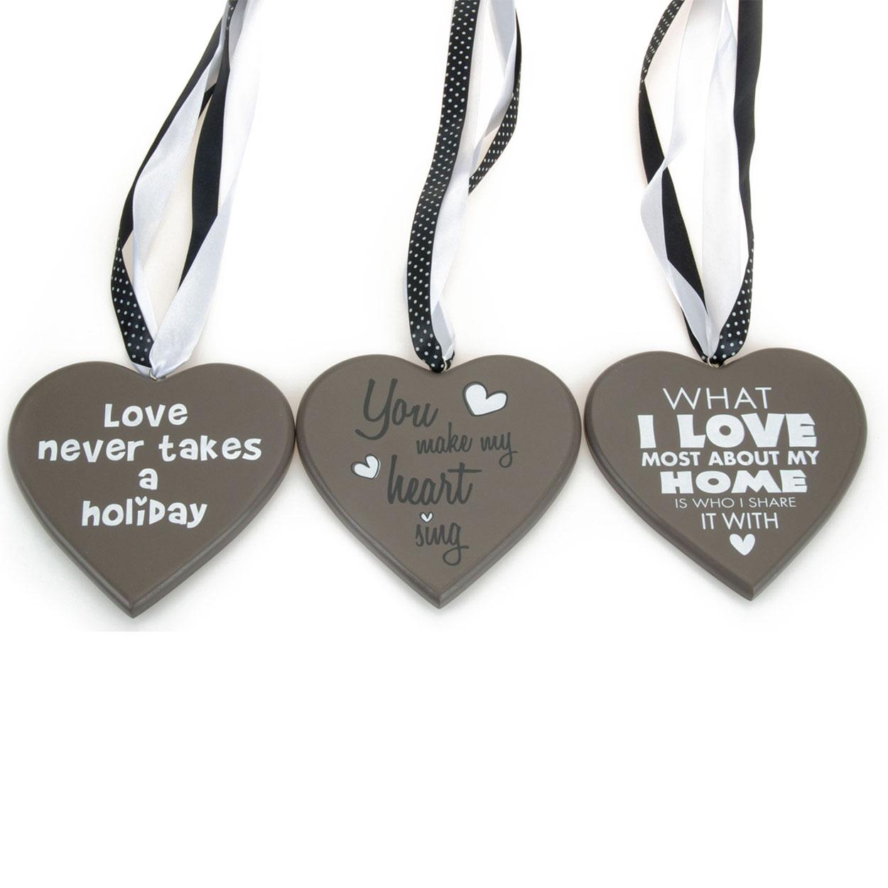 decoratie hart grijs online kopen lobbesnl