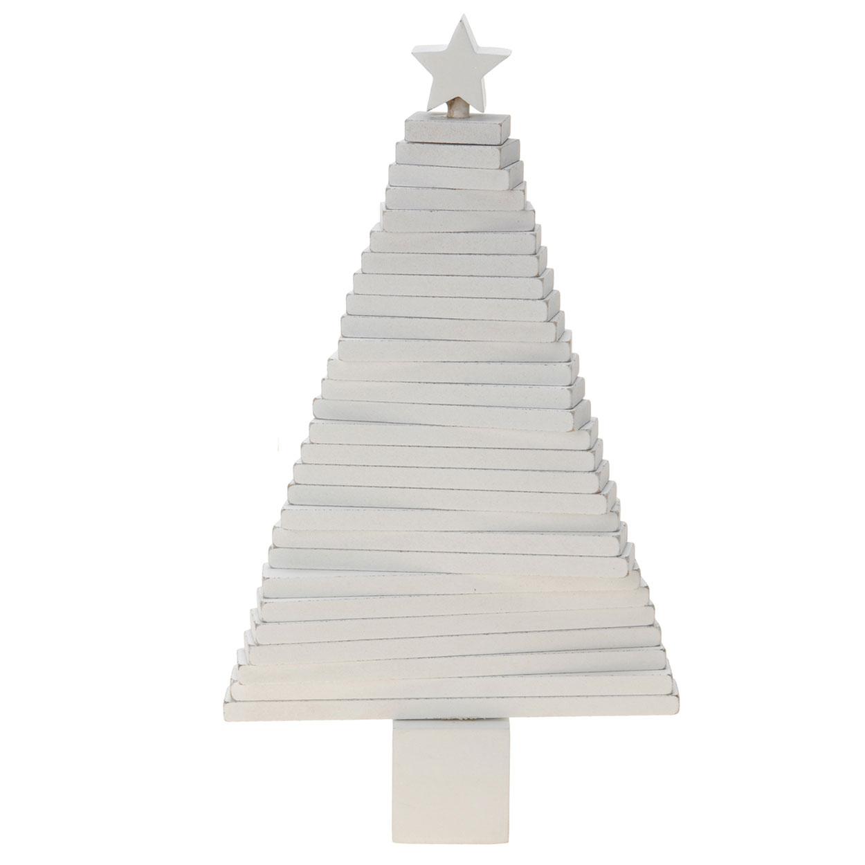 Houten Kerstboom Wit Online Kopen Lobbes Wonen