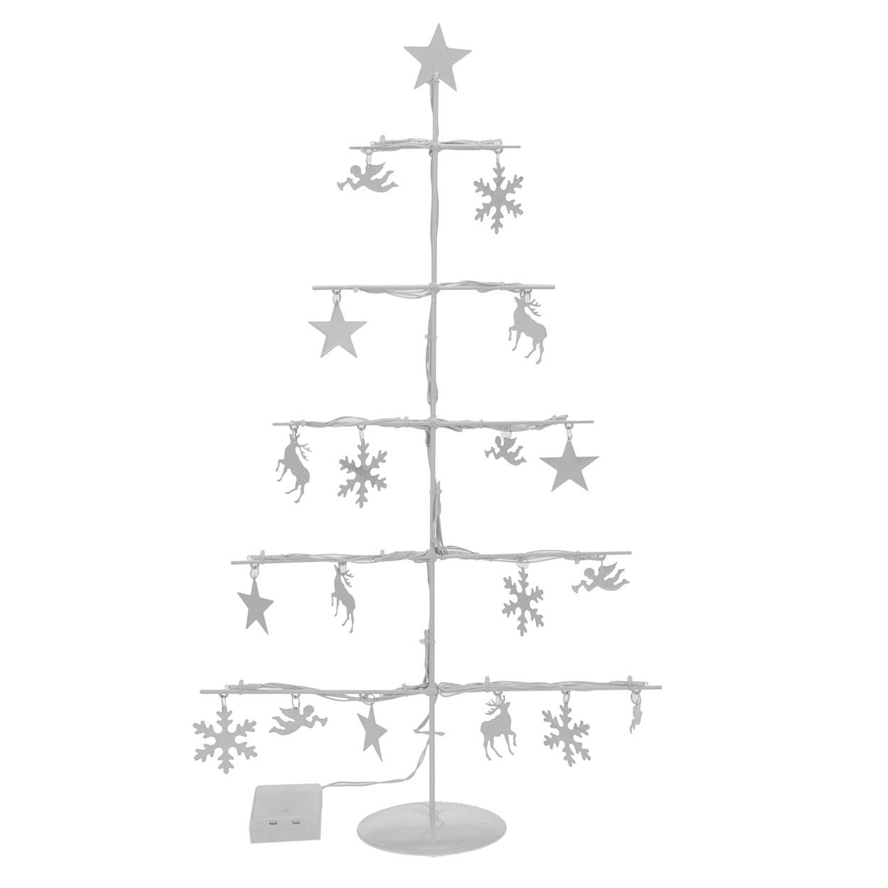 Metalen Kerstboom met Verlichting online kopen   Lobbes.nl