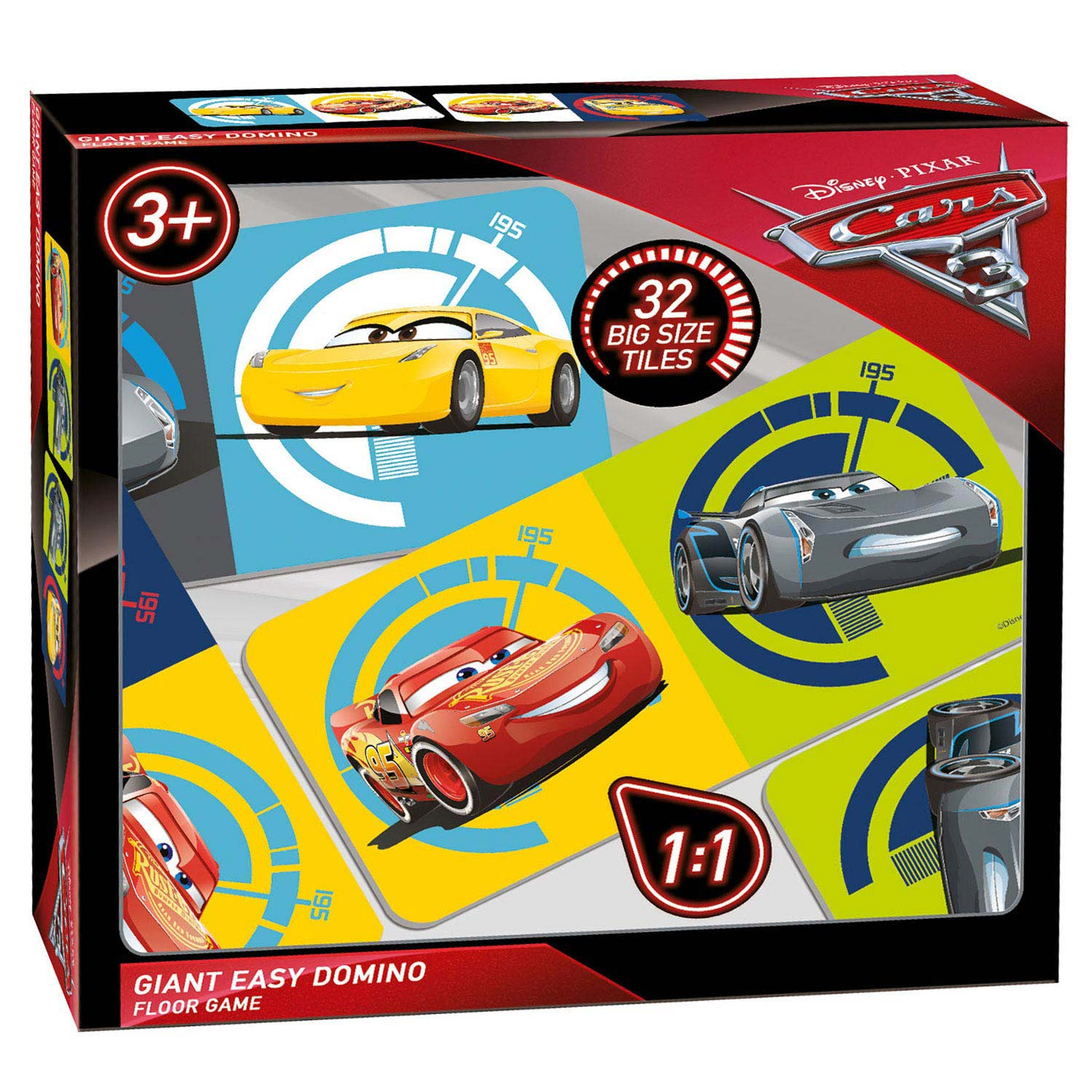 Cars 3 Giant Domino