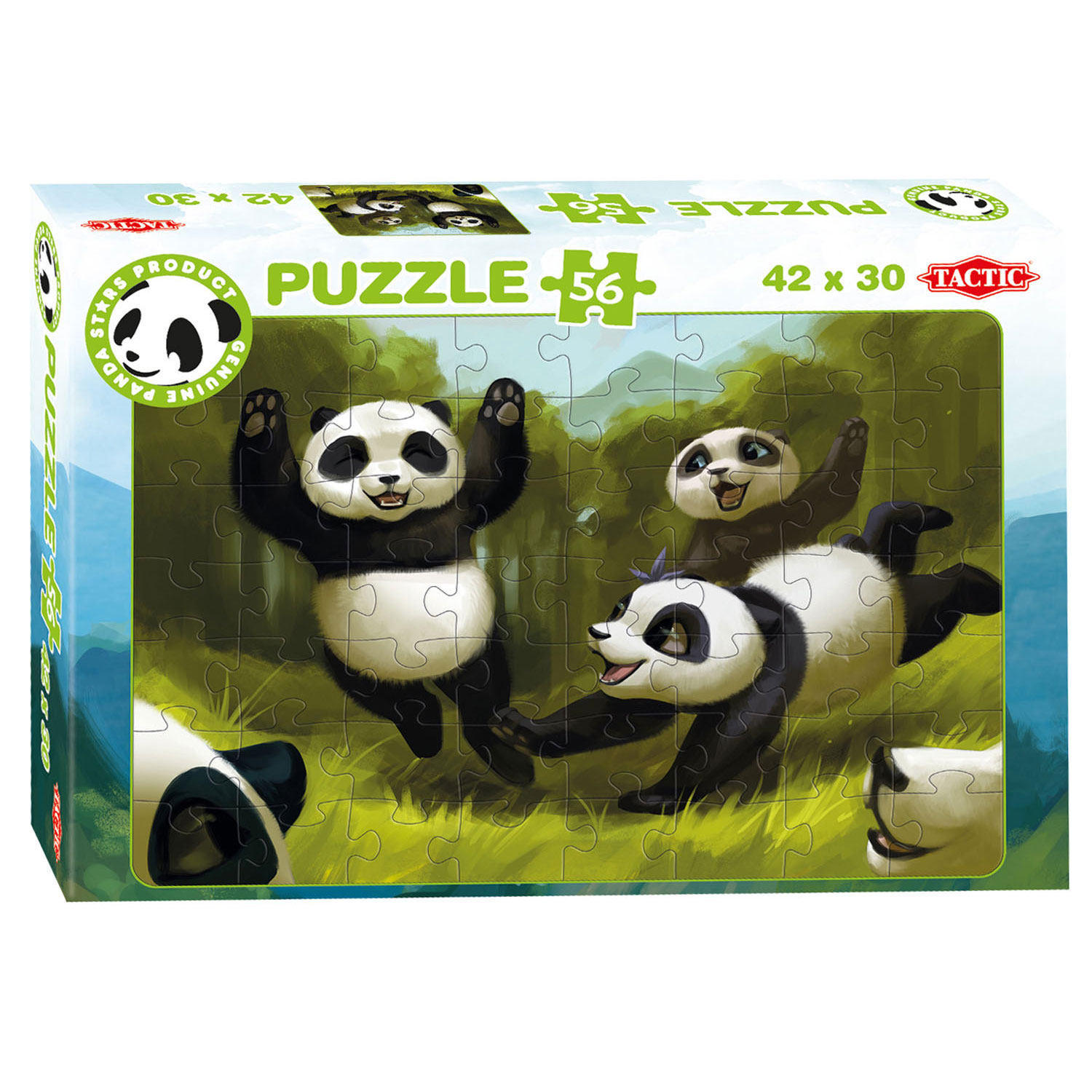 Panda Stars Puzzel - Fun Together, 56st.