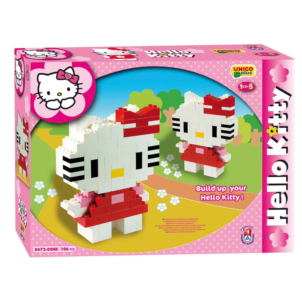 hello kitty unico hello kitty online kopen. Black Bedroom Furniture Sets. Home Design Ideas