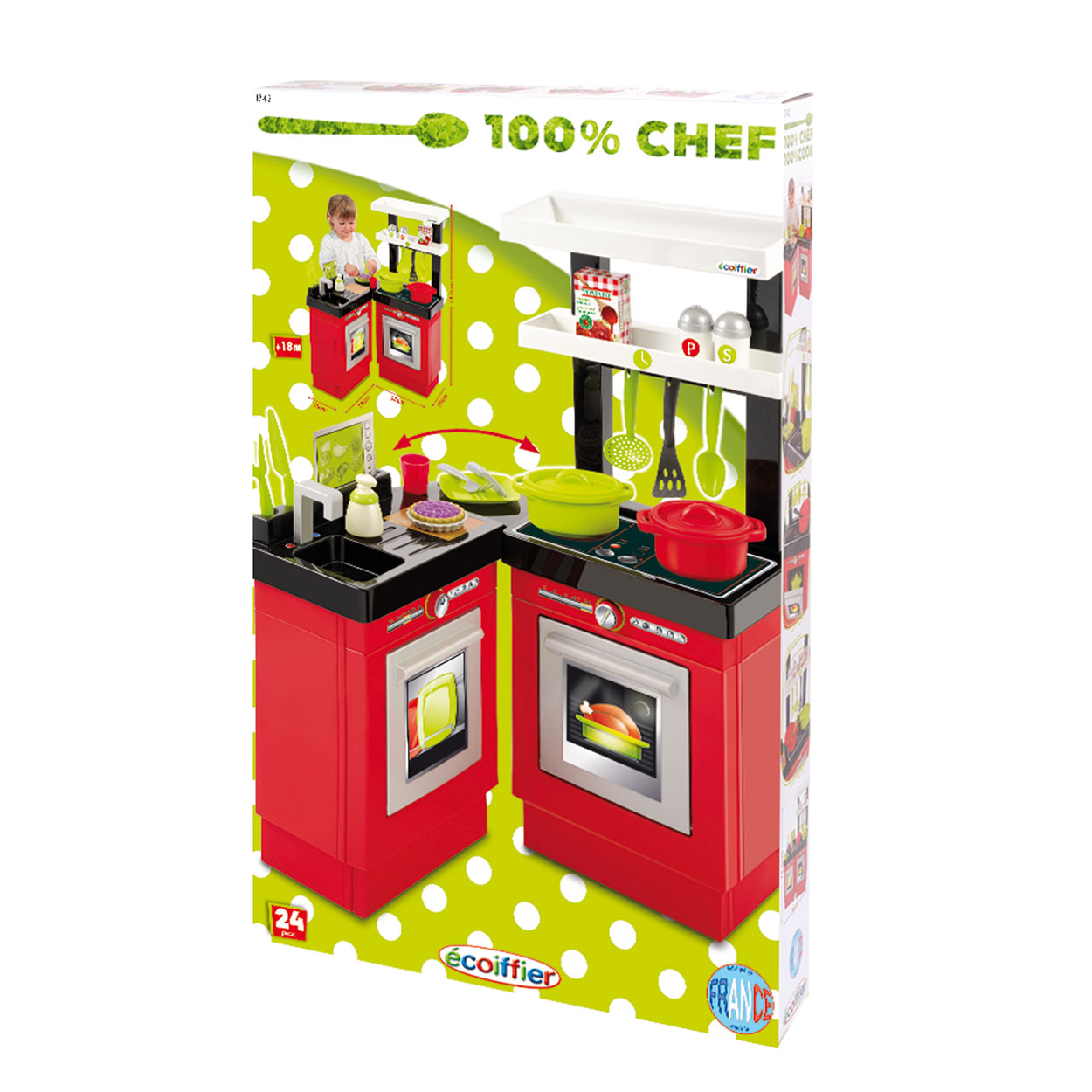 Ecoiffier 100% Chef Keuken online kopen Lobbes nl
