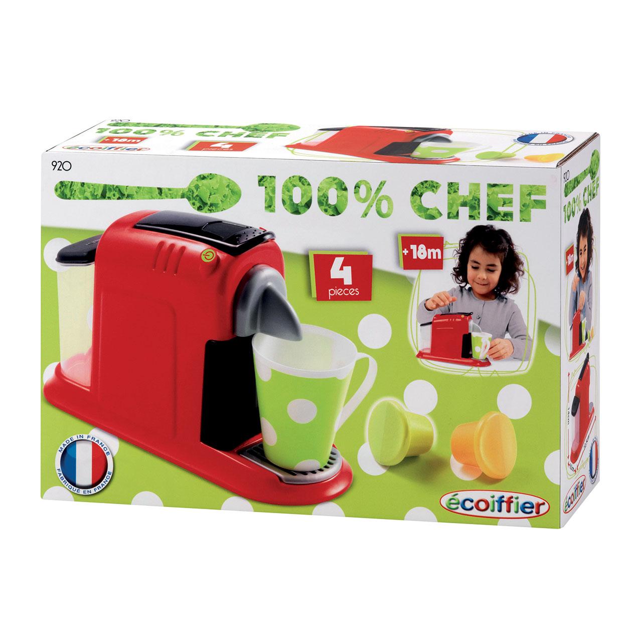 Disney Keukenaccessoires : Ecoiffier 100% Chef Koffiemachine online kopen Lobbes nl