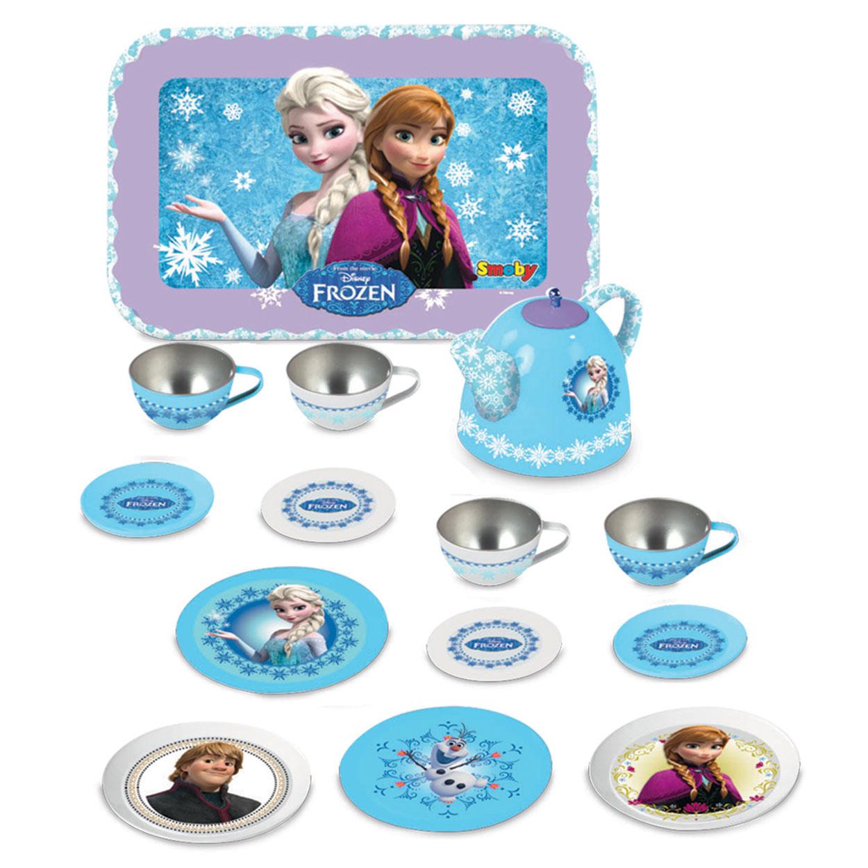 Disney Keukenaccessoires : Smoby Disney Frozen Metalen Theeset online kopen Lobbes nl