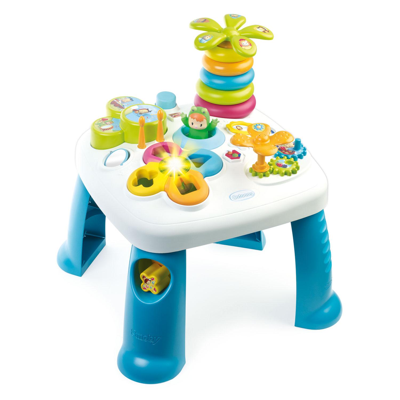 318a64bd5b38bc Smoby Cotoons Activiteitentafel - Blauw online kopen | Lobbes Speelgoed