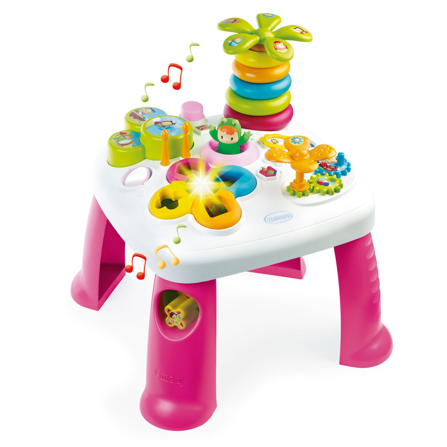 Smoby Cotoons Activiteitentafel - Roze