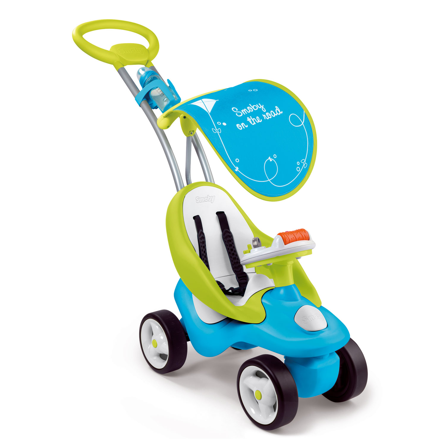 Smoby Bubble Go Ride On Blauw