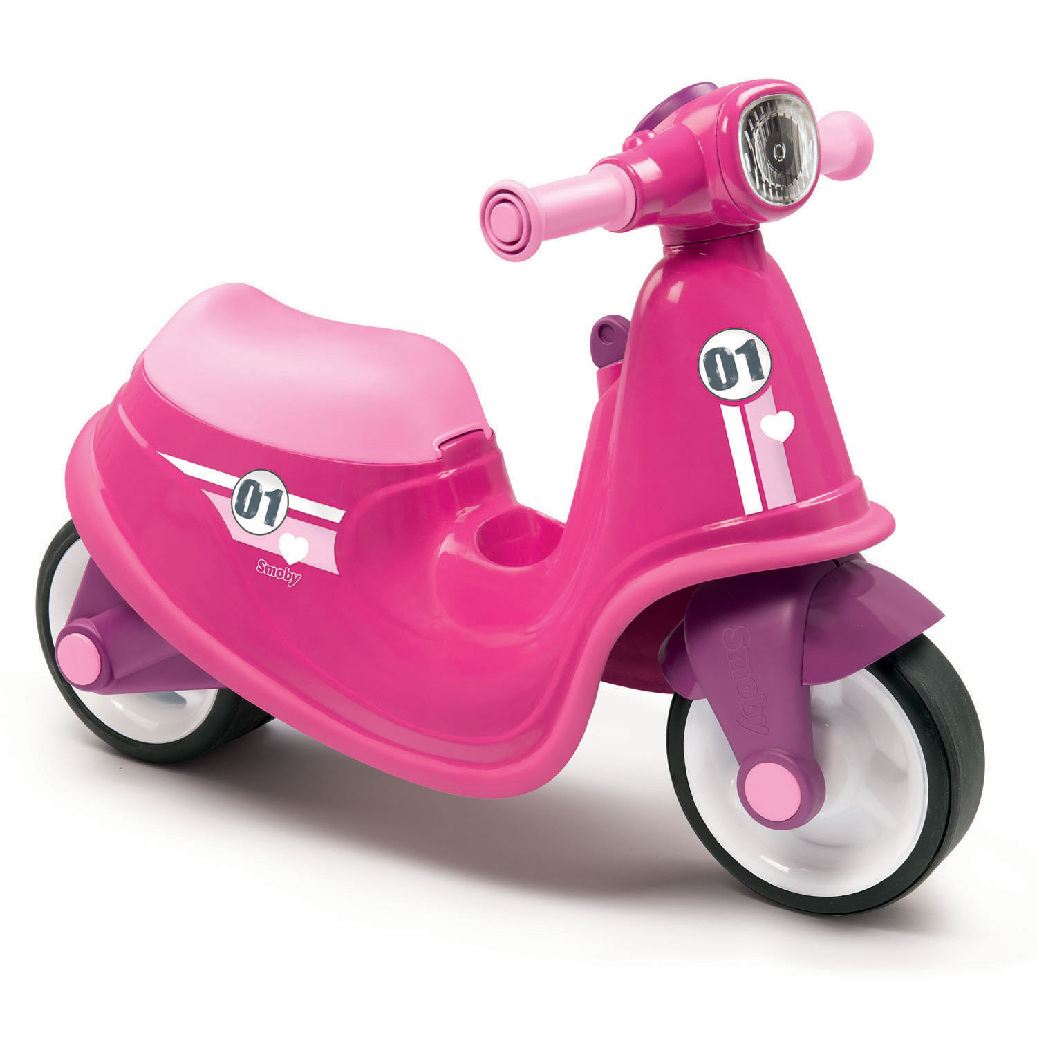 Smoby Scooter Ride On Roze