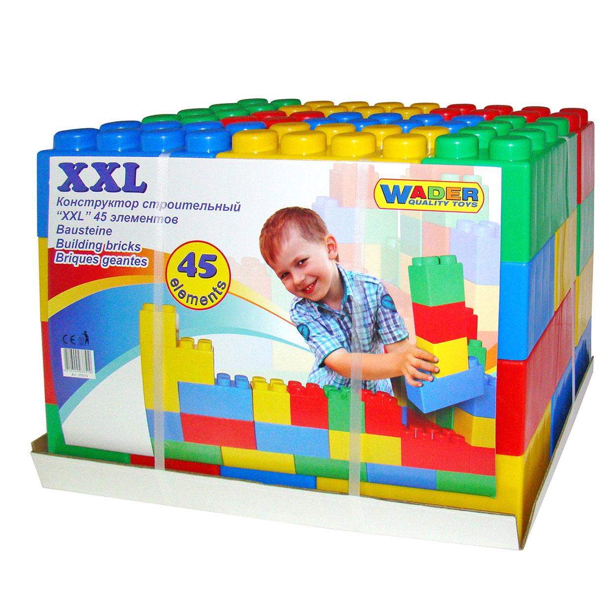Polesie Bouwblokken XXL, 45dlg. online kopen | Lobbes Speelgoed