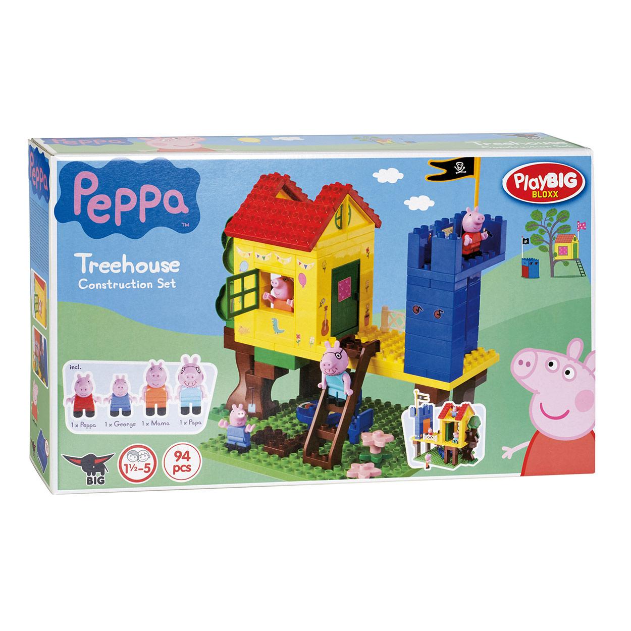 Playbig Bloxx Peppa Pig Boomhut Online Kopen Lobbes Nl