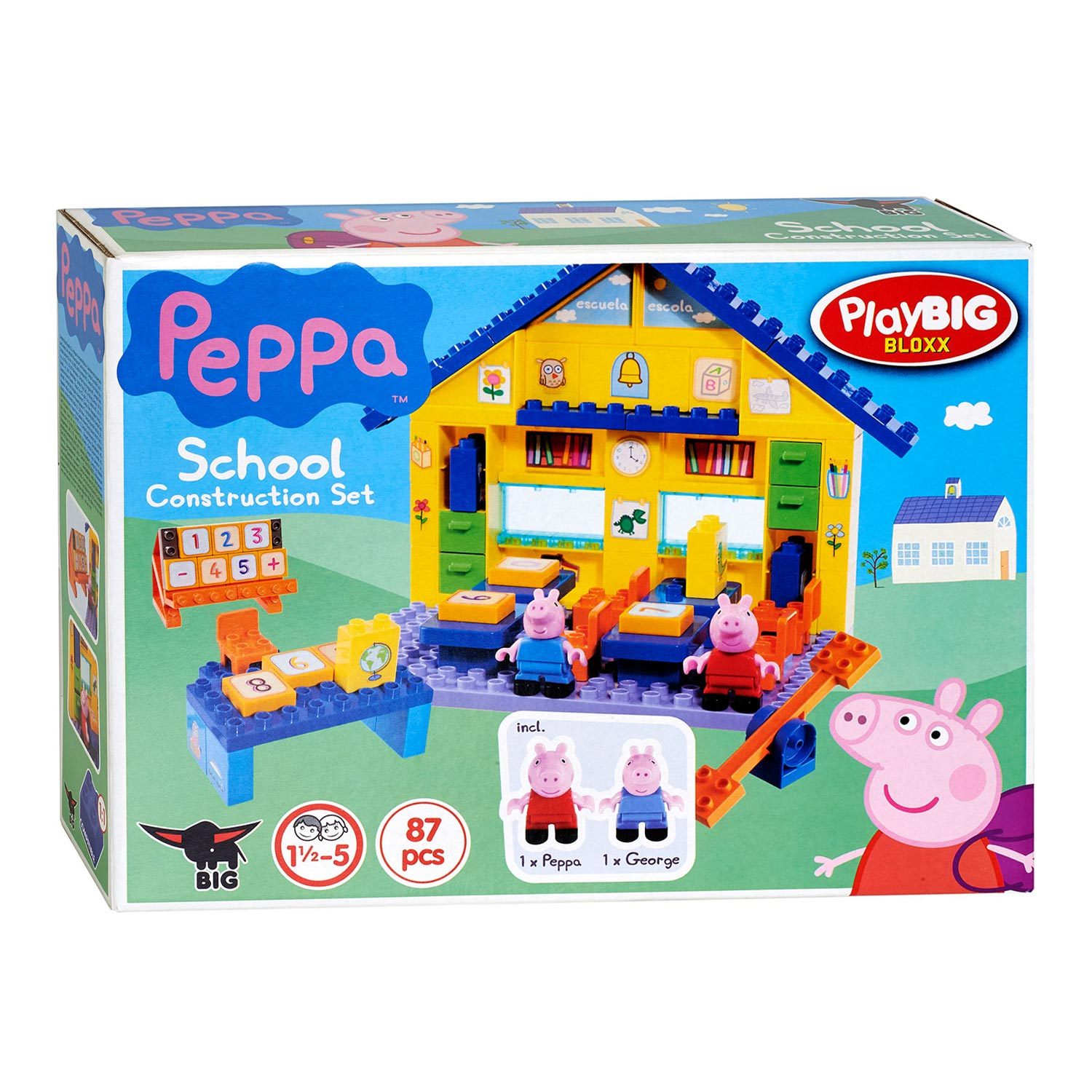 PlayBIG Bloxx Peppa Pig School