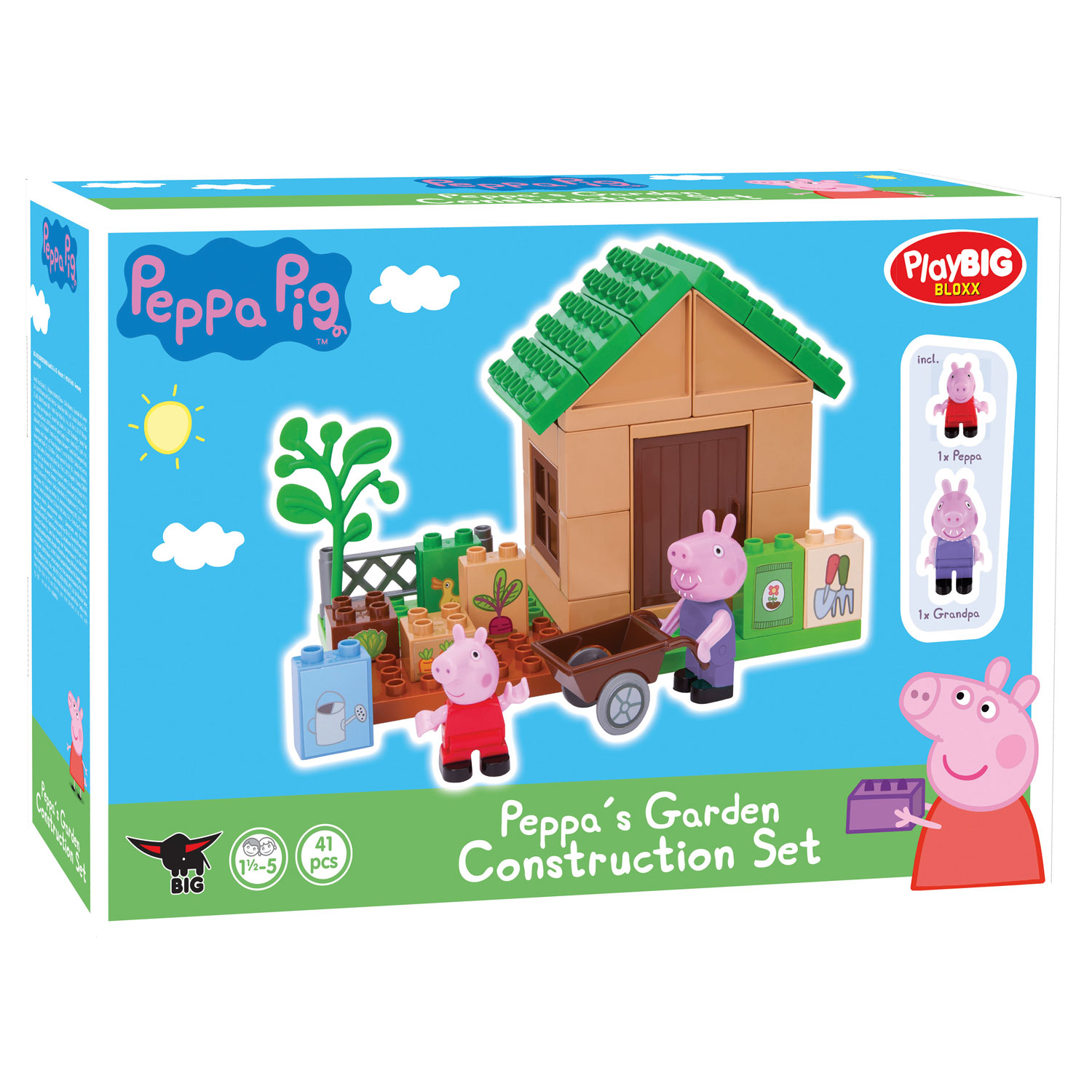 PlayBIG Bloxx Peppa Pig - Peppa's Tuin