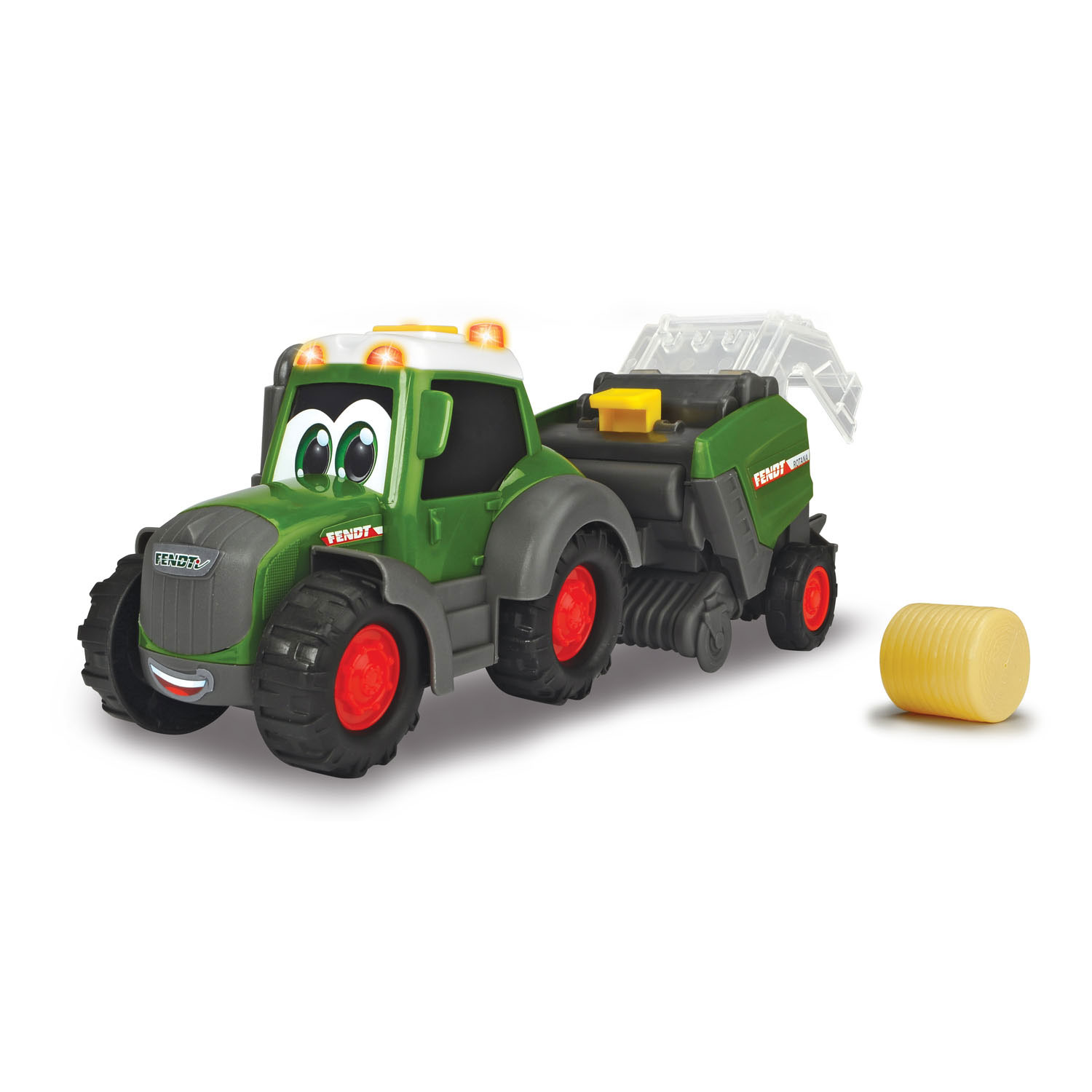 Happy Fendt Tractor met Balenpers
